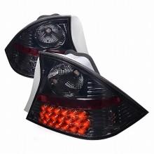 2001-2003 HONDA CIVIC LED TAIL LIGHTS (PAIR) SMOKE 2 DOOR (Spec-D Tuning)