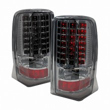2002-2006 CADILLAC ESCALADE CRYSTAL LED TAIL LIGHTS (PAIR)  (Spec-D Tuning)