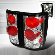 2000-2003 FORD EXCURSION ALTEZZA TAIL LIGHTS (PAIR) CHROME (Spec-D Tuning)