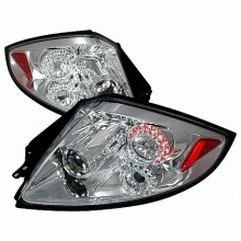 2006-2008 MITSUBISHI ECLIPSE LED TAIL LIGHTS (PAIR) CHROME (Spec-D Tuning)