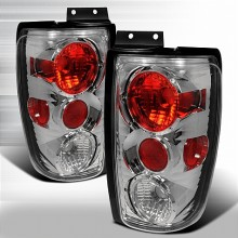 1997-2002 FORD EXPEDITION ALTEZZA TAIL LIGHTS (PAIR) CHROME (Spec-D Tuning)