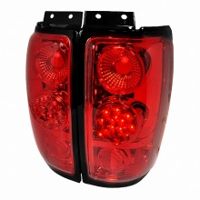 1997-2002 FORD EXPEDITION LED TAIL LIGHTS (PAIR) RED (Spec-D Tuning)