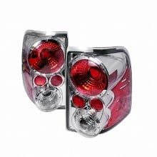 2002-2005 FORD EXPLORER ALTEZZA TAIL LIGHTS (PAIR) CHROME (Spec-D Tuning)