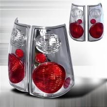 2002-2004 FORD EXPLORER ALTEZZA TAIL LIGHTS (PAIR) CHROME (Spec-D Tuning)