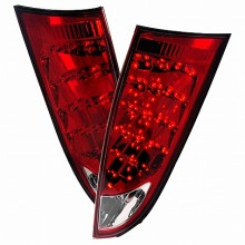 2000-2007 FORD FOCUS LED TAIL LIGHTS (PAIR) RED (Spec-D Tuning)