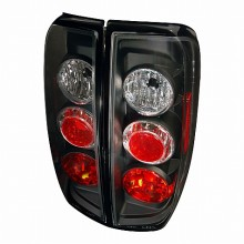2005-2012 NISSAN FRONTIER ALTEZZA TAIL LIGHTS (PAIR) BLACK (Spec-D Tuning)