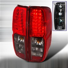 2005-2012 NISSAN FRONTIER LED TAIL LIGHTS (PAIR) RED SMOKE (Spec-D Tuning)