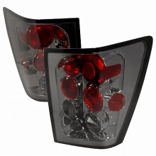 2005-2006 JEEP GRAND CHEROKEE ALTEZZA TAIL LIGHTS (PAIR) SMOKE (Spec-D Tuning)