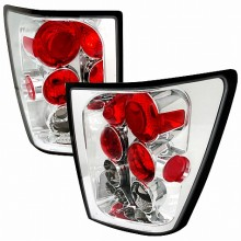 2005-2006 JEEP GRAND CHEROKEE ALTEZZA TAIL LIGHTS (PAIR) CHROME (Spec-D Tuning)