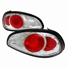 1997-2003 PONTIAC GRAND PRIX ALTEZZA TAIL LIGHTS (PAIR) CHROME (Spec-D Tuning)