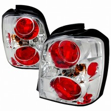 2004-2007 TOYOTA HIGHLANDER ALTEZZA TAIL LIGHTS (PAIR) CHROME (Spec-D Tuning)