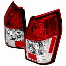 2005-2008 DODGE MAGNUM LED TAIL LIGHTS (PAIR) RED (Spec-D Tuning)