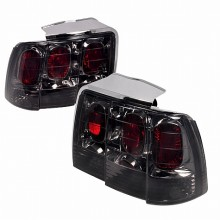 1999-2004 FORD MUSTANG ALTEZZA TAIL LIGHTS (PAIR) SMOKE (Spec-D Tuning)