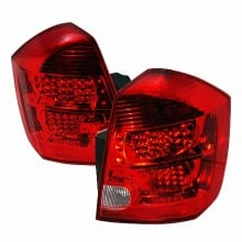 2007-2013 NISSAN SENTRA LED TAIL LIGHTS (PAIR) RED (Spec-D Tuning)