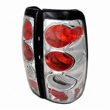 1999-2002 CHEVY SILVERADO ALTEZZA TAIL LIGHTS (PAIR) CHROME (Spec-D Tuning)