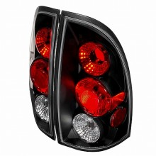 2005-2010 TOYOTA TACOMA ALTEZZA TAIL LIGHTS (PAIR) BLACK (Spec-D Tuning)