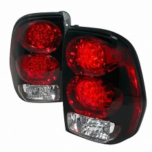 2002-2007 CHEVY TRAILBLAZER LED TAIL LIGHTS (PAIR) RED (Spec-D Tuning)