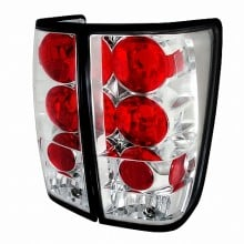 2004-2012 NISSAN TITAN ALTEZZA TAIL LIGHTS (PAIR) CHROME (Spec-D Tuning)