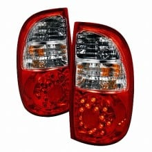 2005-2006 TOYOTA TUNDRA LED TAIL LIGHTS (PAIR) RED (Spec-D Tuning)