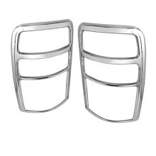 2000-2006 Chevy Tahoe ABS Tail Lights (PAIR) Bezel - Chrome (Spyder Auto)