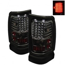 1994-2001 Dodge Ram 1500 LED Tail Lights (PAIR) - Smoke (Spyder Auto)