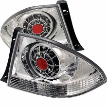 2001-2003 Lexus IS300 LED Tail Lights (PAIR) - Chrome (Spyder Auto)