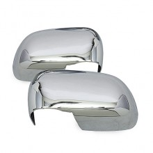 2005-2009 Dodge Dakota Mirror Cover - Chrome (Spyder Auto)