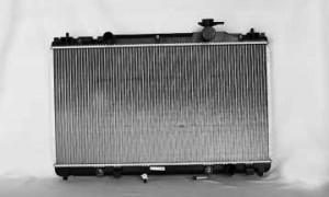 2002-2006 Toyota Camry Radiator (2.4L L4 / 1-inch Core / Marked 0h13)