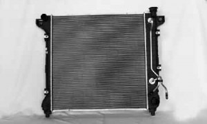 1998-1999 Dodge Durango Radiator (3.9L / 5.2L / 5.9L / Without Auxiliary Toc)