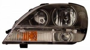 2001-2003 LEXUS RX 300 HEADLIGHTS (PAIR) HALO IRON GRAY (CCFL)  (Anzo USA)
