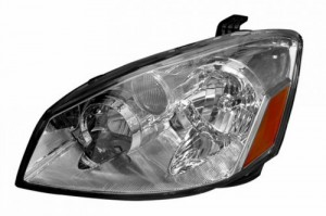 2005-2006 NISSAN ALTIMA HEADLIGHTS (PAIR) CRYSTAL CLEAR AMBER  (Anzo USA)