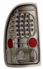 1997-2004 DODGE DAKOTA LED TAIL LIGHTS (PAIR) ALL CHROME   (Anzo USA)