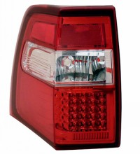 2007-2013 FORD EXPEDITION LED TAIL LIGHTS (PAIR) RED/CLEAR   (Anzo USA)