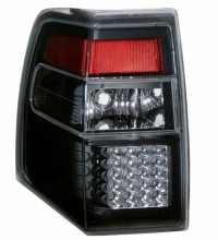 2007-2013 FORD EXPEDITION LED TAIL LIGHTS (PAIR) BLACK  (Anzo USA)