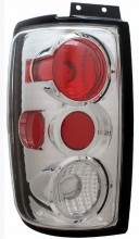 1997-2002 FORD EXPEDITION TAIL LIGHTS (PAIR) G2 CHORME  (Anzo USA)