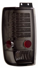 1997-2002 FORD EXPEDITION LED TAIL LIGHTS (PAIR) SMOKE  (Anzo USA)