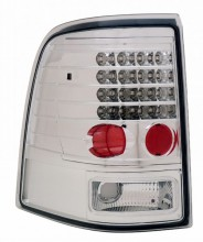 2002-2004 FORD EXPLORER LED TAIL LIGHTS (PAIR) ALL CHROME  (Anzo USA)
