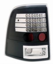 2002-2004 FORD EXPLORER LED TAIL LIGHTS (PAIR) BLACK  (Anzo USA)