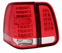 2003-2006 LINCOLN NAVIGATOR LED TAIL LIGHTS (PAIR) 4 PCS RED/CLEAR   (Anzo USA)