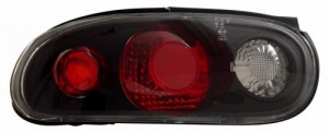 1990-1997 MAZDA MIATA TAIL LIGHTS (PAIR) BLACK   (Anzo USA)