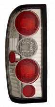 1998-2004 NISSAN FRONTIER TAIL LIGHTS (PAIR) CHROME  (Anzo USA)
