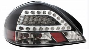 1999-2005 PONTIAC GRAND AM LED TAIL LIGHTS (PAIR) BLACK  (Anzo USA)