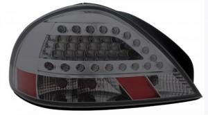 1999-2005 PONTIAC GRAND AM LED TAIL LIGHTS (PAIR) SMOKE  (Anzo USA)