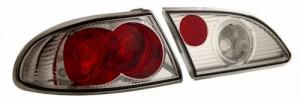 1998-2002 TOYOTA COROLLA TAIL LIGHTS (PAIR) CHROME  (Anzo USA)