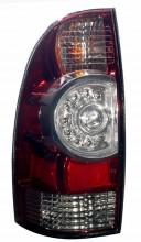2009-2010 TOYOTA TACOMA LED TAIL LIGHTS (PAIR) SMOKE  (Anzo USA)