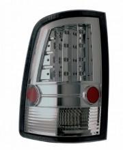 2009-2013 DODGE RAM LED TAIL LIGHTS (PAIR) SMOKE  (Anzo USA)