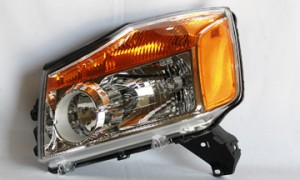 2008-2011 Nissan Titan Pickup Headlight Assembly - Left (Driver)
