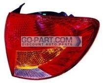 2002-2002 Kia Rio5 Tail Light Rear Lamp - Right (Passenger)
