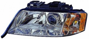 2000-2001 Audi A6 Headlight Assembly - Left (Driver)