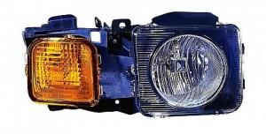 2006-2010 AMG Hummer H3 Headlight Assembly - Right (Passenger)